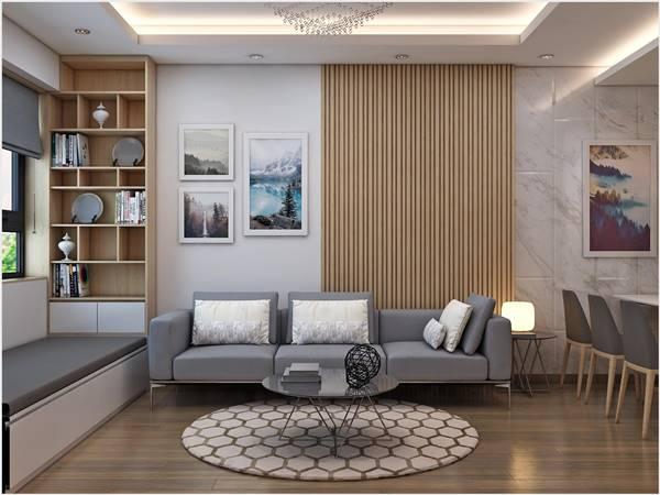 Thiết kế thi công nội thất trọn gói công trình nhà anh Quân Ecopark 14