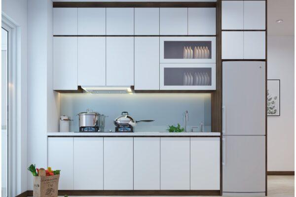 Một số mẫu thiết kế bếp chung cư đẹp, tiện nghi 6