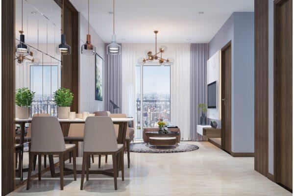 Mẫu thiết kế nội thất chung cư nhỏ xu hướng Minimalism