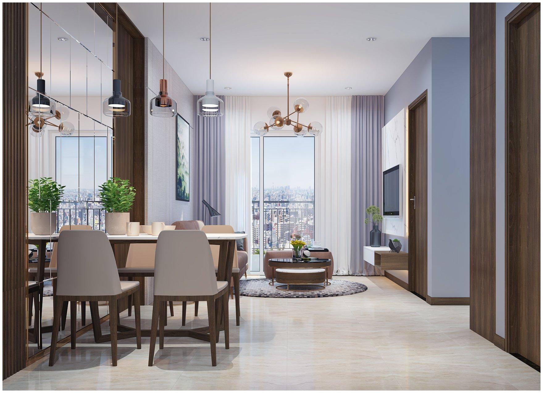 Thiết kế nội thất chung cư Hà Nội