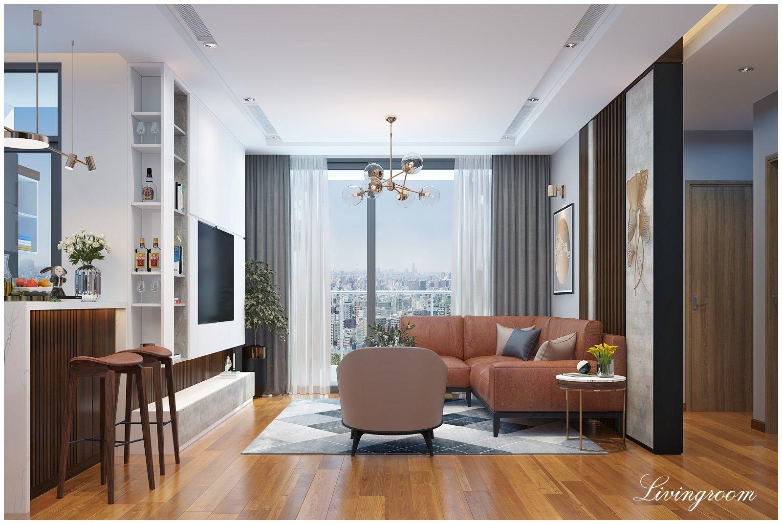 Thiết kế thi công nội thất chung cư hiện đại- Cốt lõi làm nên cái hồn của ngôi nhà