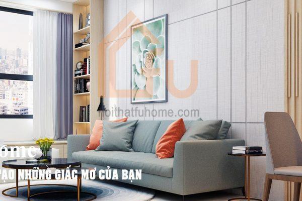 Lựa chọn đồ dùng nội thất khi thiết kế nội thất chung cư nhỏ 3