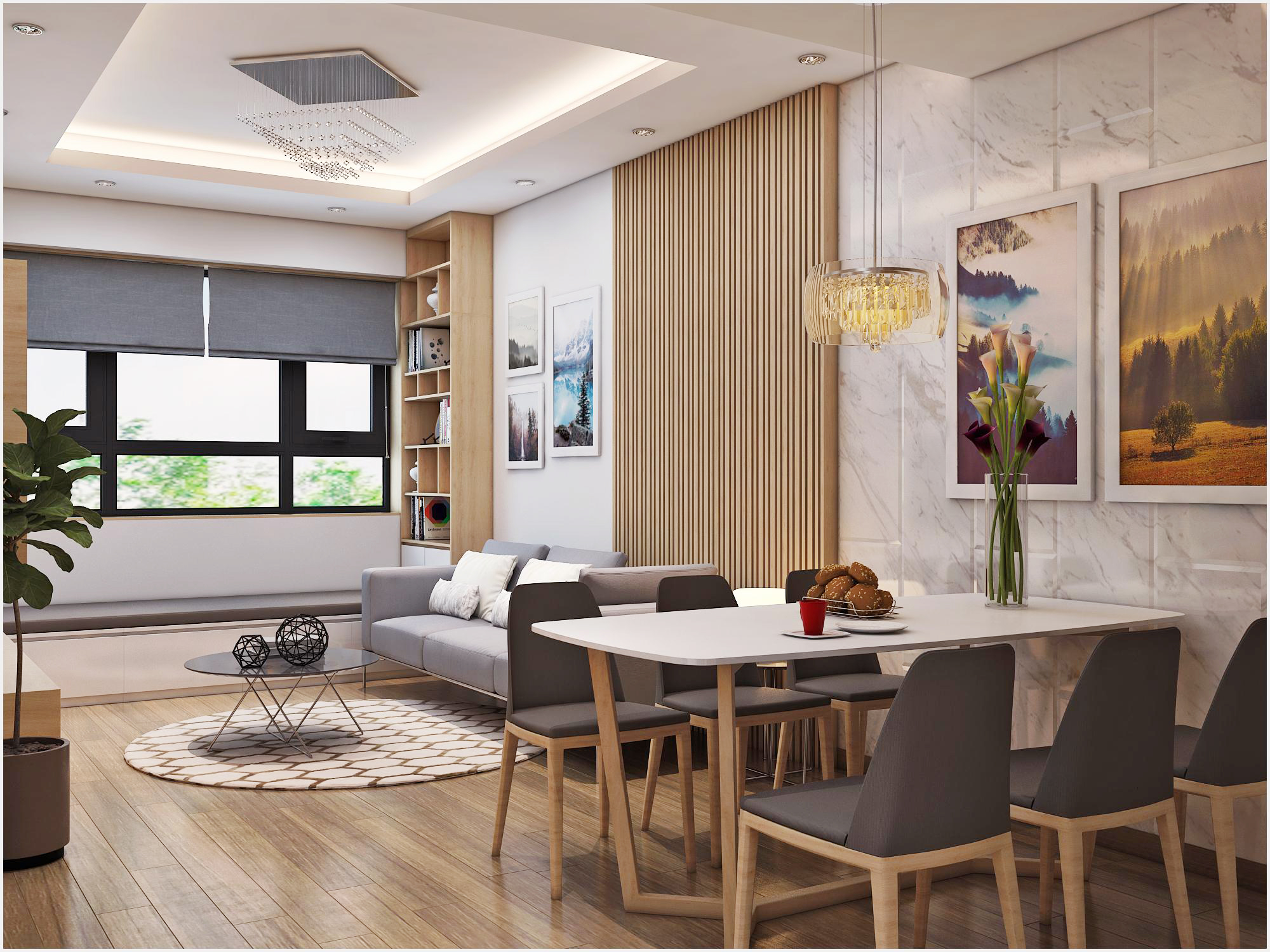Thiết kế nội thất chuyên nghiệp chất lượng hàng đầu tại Nội thất Fuhome
